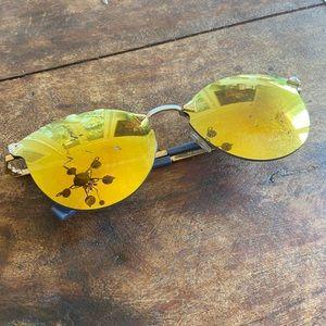 Fendi Cateye Mirrored Sunglasses Needs New lenses
